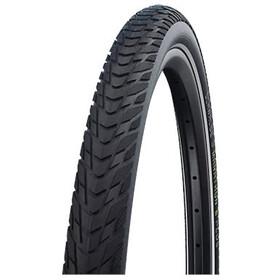"""SCHWALBE Marathon E-Plus Perform Clincher Tyre 28x1.40"""" Smart DualGuard E-50 Addix E Reflex, negro"""
